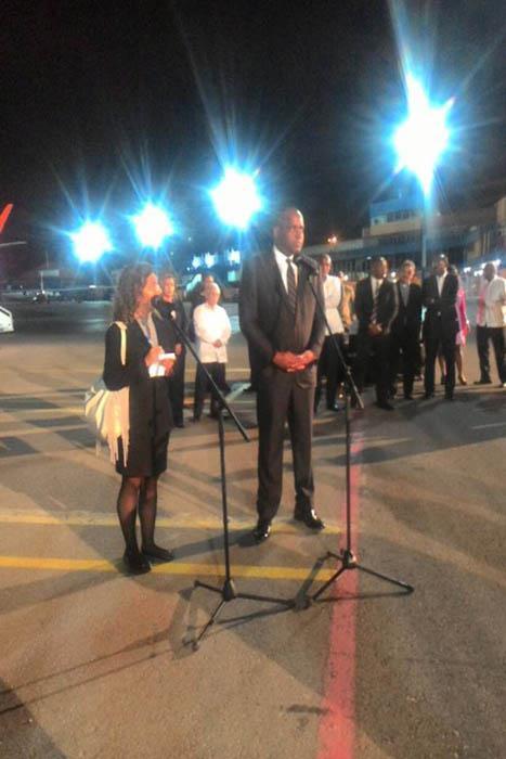 El primer ministro de Dominica Roosevelt Skerrit