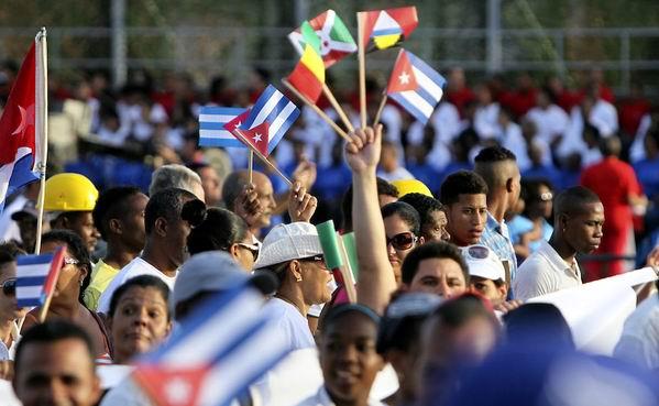 Primero de Mayo: Cuba abre sus puertas a los amigos. Foto: Ladyrene Pérez