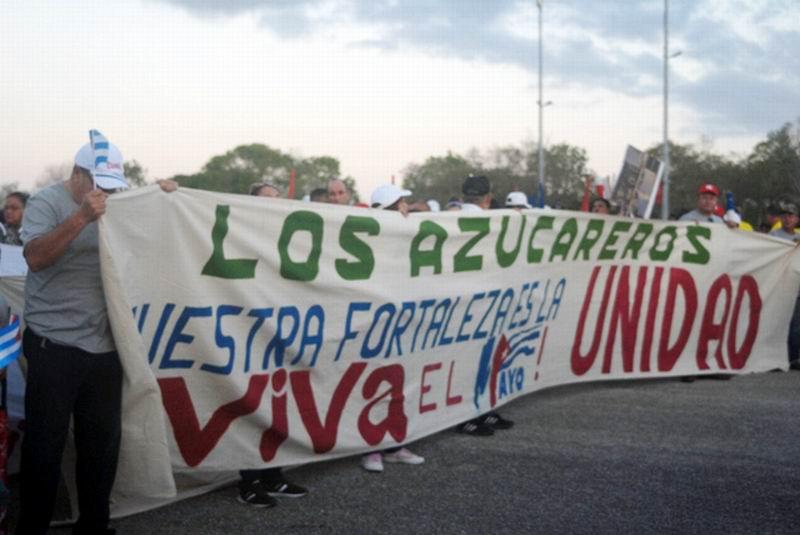 Día del Trabajador en Holguín. Foto: Elder Leyva