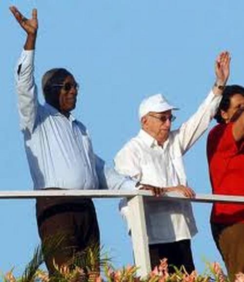 Jose Ramón Machado Ventura, desfile del Primero de Mayo, Cuba, 2011