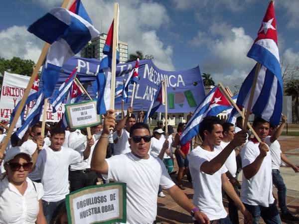 Vibró El Camagüey este Primero de Mayo. Foto Miozotis Fabelo
