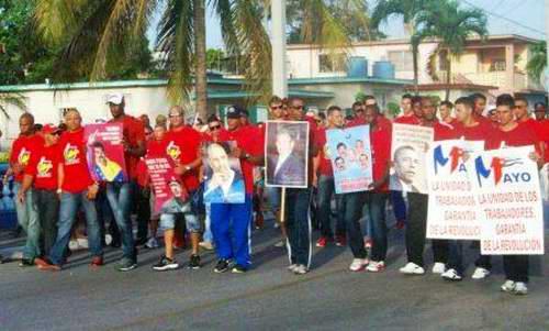 Reafirma Primero de Mayo que el socialismo en Cuba es irreversible. Foto José Miguel Solís