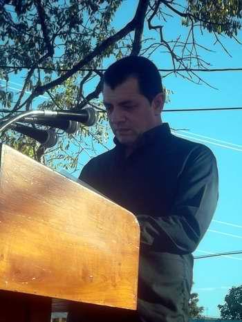 El Primer Secretario del Partido Comunista de Cuba en Las Tunas, Ariel Santana Santiesteban. Foto Yaciel de la Peña