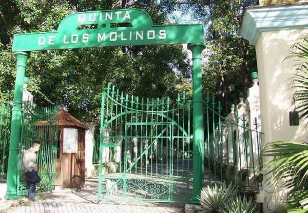 La quinta de los molinos combina historia y naturaleza for Piso quinta de los molinos