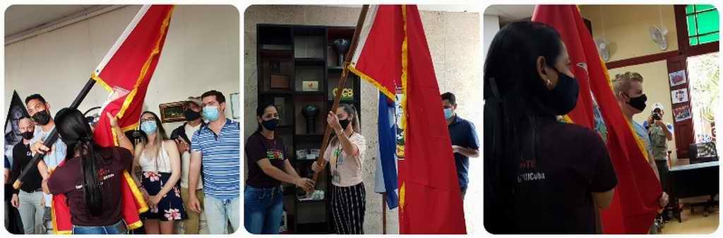 Bandera reconoce honor juvenil en Camagüey