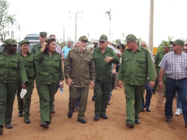 Evaluó Ramiro Valdés avances de la recuperación en Camagüey