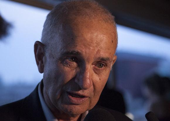 El ex diplomático y escritor, Ramón Sánchez-Parodi, quien fuera el primer Jefe de la Sección de Intereses de Cuba en Estados Unidos, entre 1977 y 1989