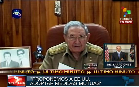 Cuban President Raul Castro Delivers Speech on Cuba-US Relations