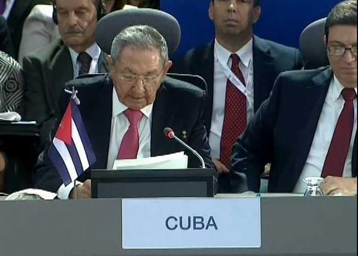 Raúl Castro: La única alternativa ante los enormes desafíos que tenemos es la unidad
