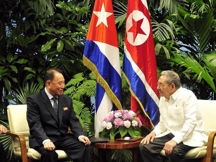 Raul Castro receives North Korean special envoy