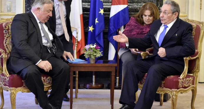 Raul Describes State Visit to France as Successful