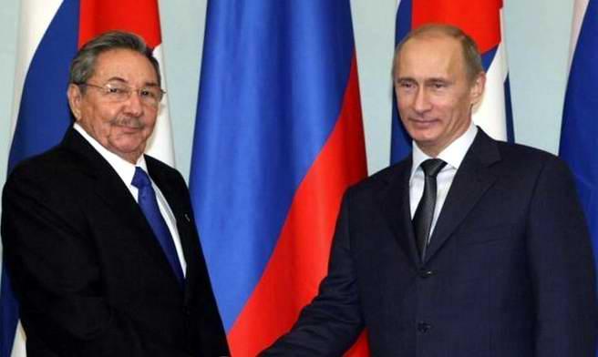 Se reúnen Raúl y Putin en Nueva York