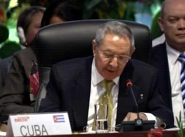 Raúl Castro: Ayer fuimos colonia; podemos ser mañana una gran comunidad de pueblos estrechamente unidos