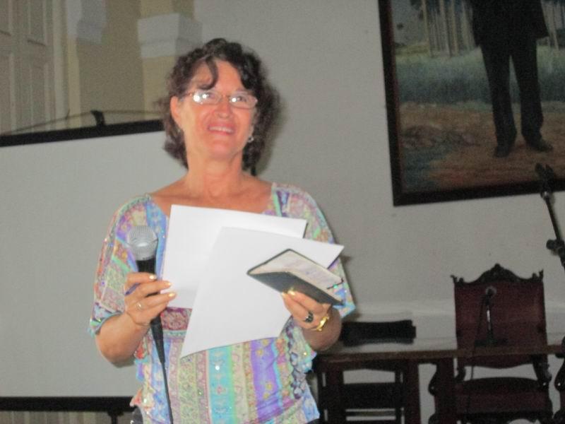 Rebeca Rodríguez Portieles, Metodóloga del Departamento de Historia y Filosofía del Ministerio de Educación (MINED). Foto: Yirian García de la Torre.