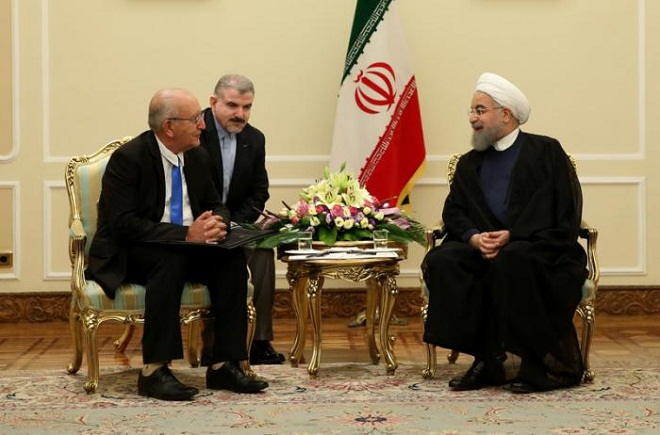 President of Iran receives Cuban Vice President