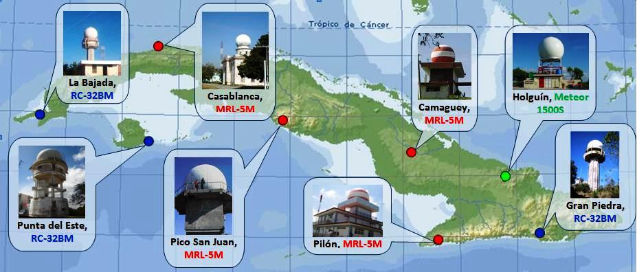 Cuba modernizes its weather radar network