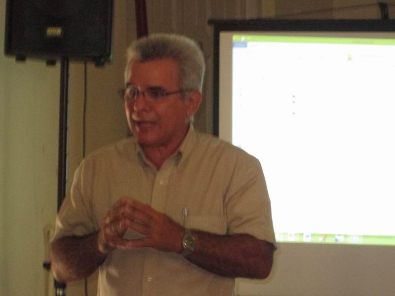 Master en ciencias René González Barrios, presidente del Instituto de Historia de Cuba (IHC). Foto: Yirian García de la Torre.