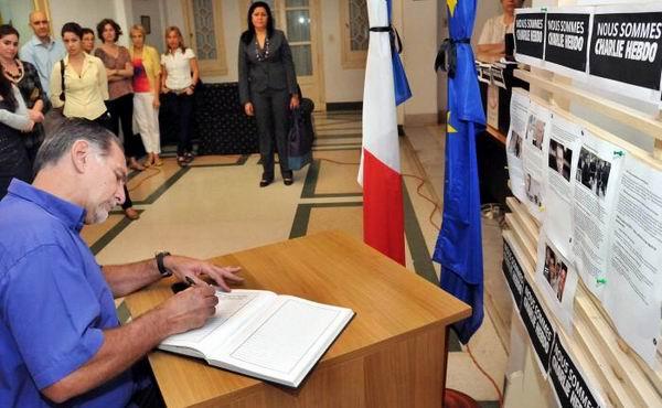 Condenan h�roes cubanos masacre contra revista francesa