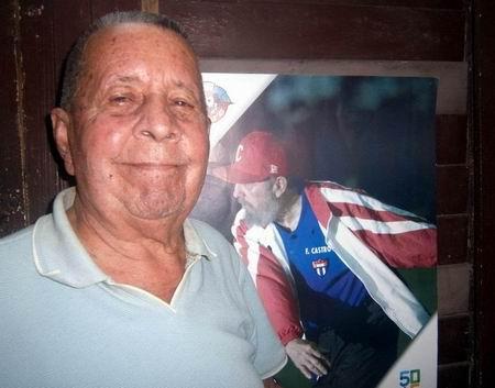 René Morejón González, quien se unió a la Caravana de la Libertad en Cienfuegos y entró con Fidel a La Habana, el 8 de enero de 1959