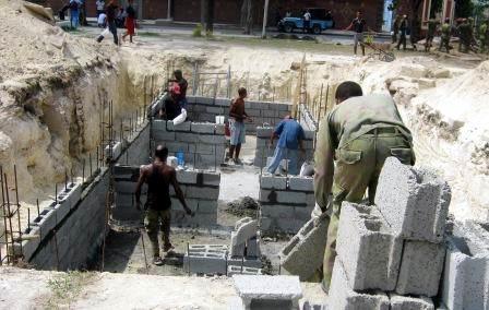 Durante el ejercicio Meteoro se trabajará en construcción y reparación de viviendas. Foto. Carlos Sanabia