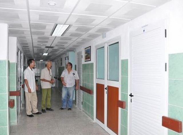 Remozan instalaciones espirituanas de Salud
