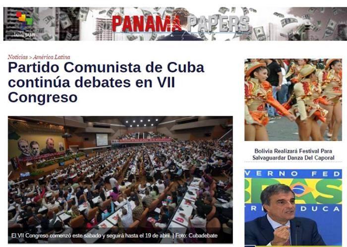 Amplia repercusión internacional del VII Congreso del Partido Comunista de Cuba