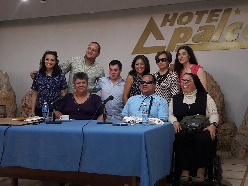 Junta Directiva de la Red Latinoamericana de Personas con Discapacidad y sus Familias, RIADIS. Fotos: Rosmerys Bernal Piña