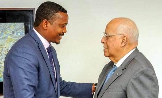 Recibe Vicepresidente cubano a Enviado Especial del Presidente de Djibouti
