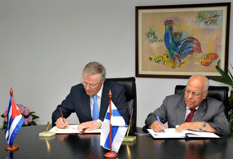 Finnish Secretary of State visits Cuba