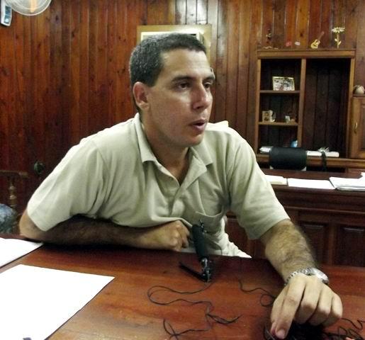 Roberto Conde Silveiro, Primer Secretario de la UJC en Camagüey. Foto: Miozotis Fabelo