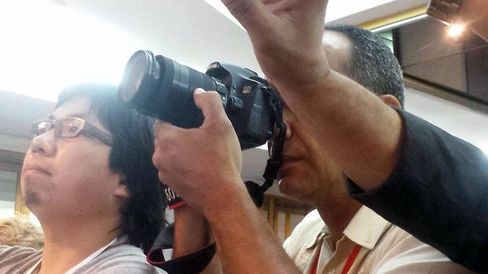 El mundo entero expectante por la visita de Obama a Cuba. Foto: Alina Cabrera