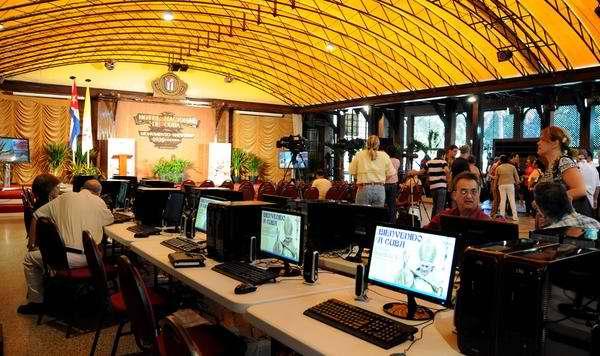Sala de prensa del Hotel Nacional. Foto AIN