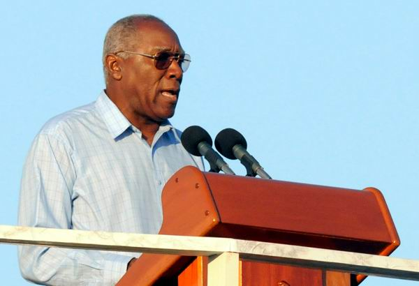 Salvador Valdés Mesa, miembro del Buró Político y secretario general de la Central de Trabajadores de Cuba.Foto: Roberto Suárez