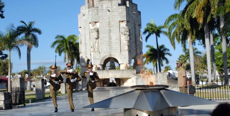 Mausoleo a José Martí, dedicado al Héroe Nacional de Cuba