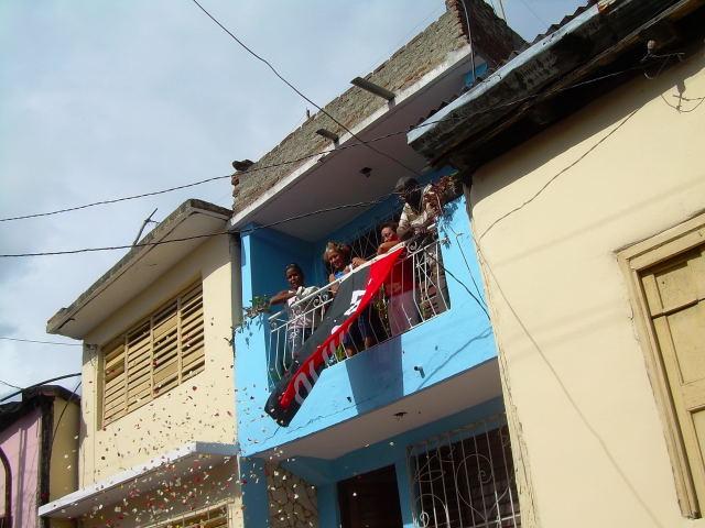 Santiago de Cuba durante el Día de los Mártires de la Patria