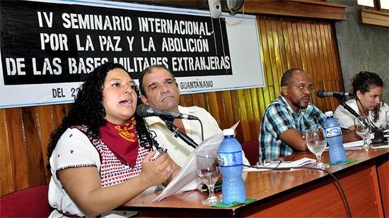 Adoptar�n pacifistas del Mundo declaraci�n final de Guant�namo (+Audio)