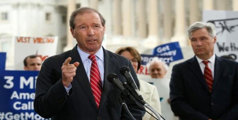 Presentan Senadores estadounidenses proyecto de ley contra el bloqueo