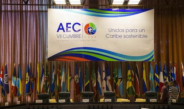 VII Cumbre de la Asociación de Estados del Caribe (AEC) en La Habana. Foto: Ismael Francisco