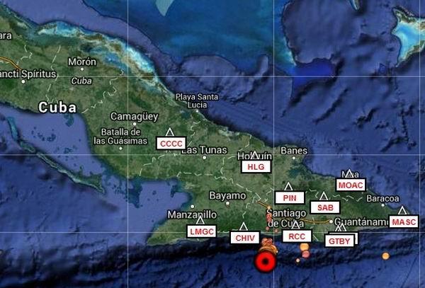 Aumentan a 680 los temblores de tierra en Santiago de Cuba