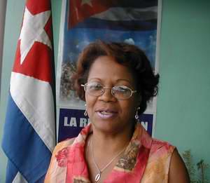 Msc. Tania Rodríguez Mexidor, Presidenta de la Comisión Electoral en Camagüey