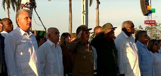 Preside Raúl homenaje al Guerrillero Heroico
