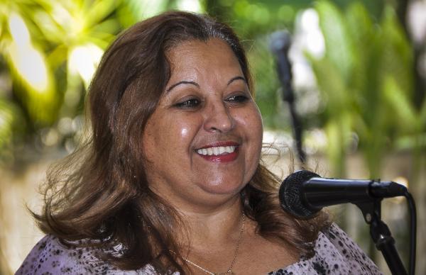 Teresa Amarelle Boué, Secretaria General de la Federación de Mujeres Cubanas (FMC). Foto: Marcelino Vázquez