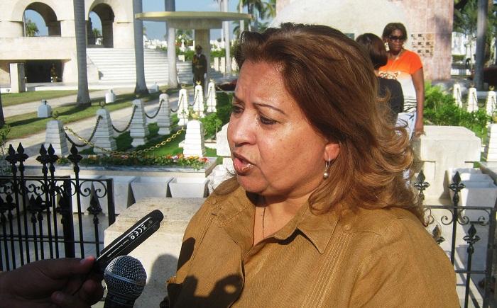 La Secretaria General de la FMC, Teresa Amarelle, ratificó el compromiso de fidelidad al legado del máximo Líder de la Revolución cubana