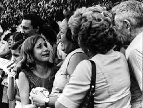 Familiares de las víctmas del sabotaje al vión cubano