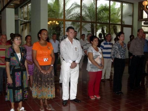 Reconocen méritos de trabajadores camagüeyanos. Foto Miozotis Fabelo Pinares