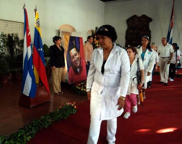 Más de ocho mil profesionales de la salud pública en Las Tunas han cumplido con honor las diversas misiones en Venezuela. Foto: Juan Manuel Olivares.