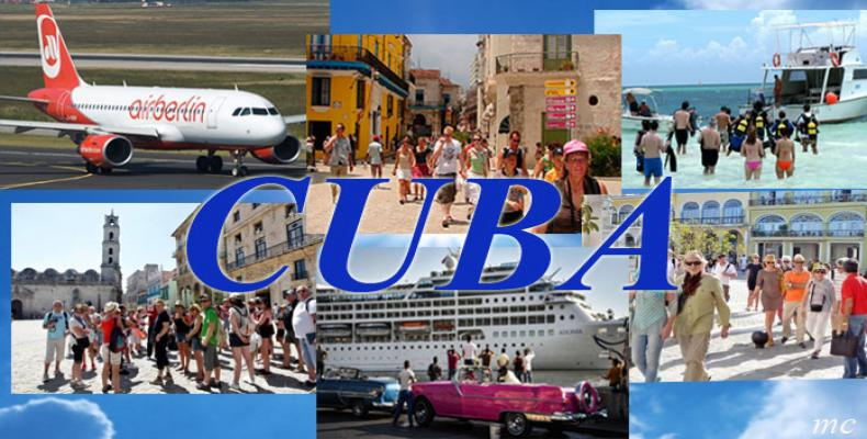 Four Million Tourists to Cuba was Achieved with European and Canadian Vacationers
