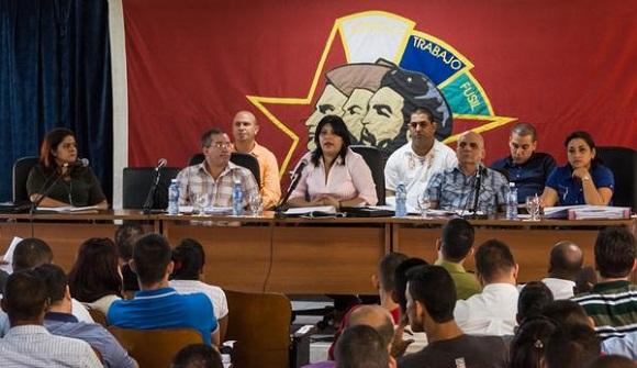 Concluye Pleno de la UJC con análisis de documentos del VII Congreso.