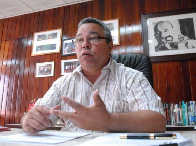 Secretario General de la organización sindical y miembro del Buró Político del Partido Comunista de Cuba (PCC), Ulises Guilarte De Nacimiento