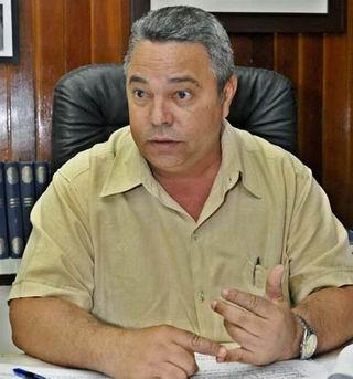 Destaca el Secretario General de la Central de Trabajadores de Cuba, Guilarte De Nacimiento, las motivaciones para desfilar este Primero de Mayo. Foto José Manuel Correa